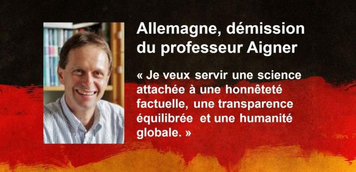 Allemagne : démission du Pr Aigner, en désaccord avec la science pratiquée