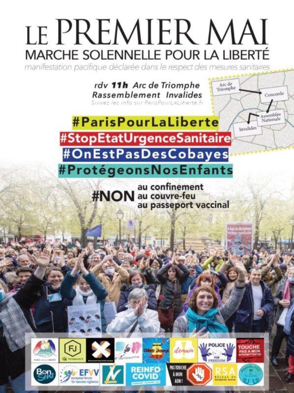 Marche solennelle pour la Liberté – Tous ensemble pour nos Libertés